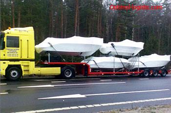 Перевозка катера Optimal Logistic