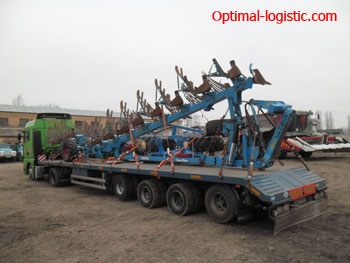 Transport of the cultivator - http://optimal-logistic.com