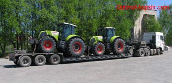 Transportation of tractors http://optimal-logistic.com
