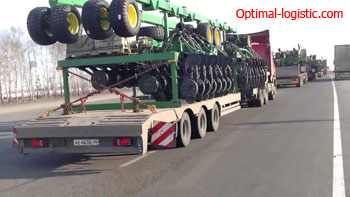 Transportation of seeders http://optimal-logistic.com