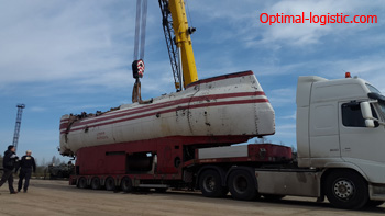 Transportation of bathyscaphe http://optimal-logistic.com