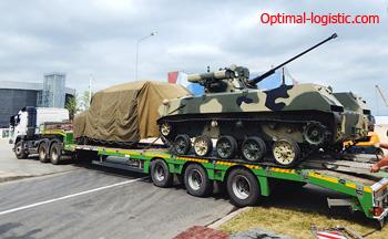 Перевозки военной техники