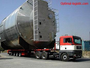 Перевозки крупногабаритных грузов от Optimal Logistic