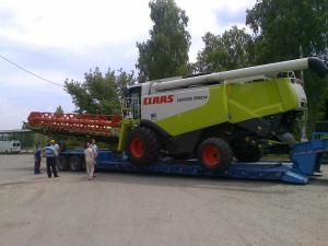 Перевозка комбайна по Украине CLAAS LEXION 580
