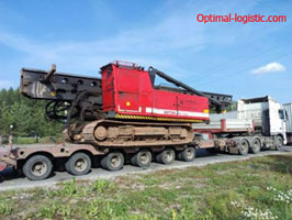 Transportation of pile-picking