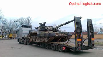 Перевозка танков