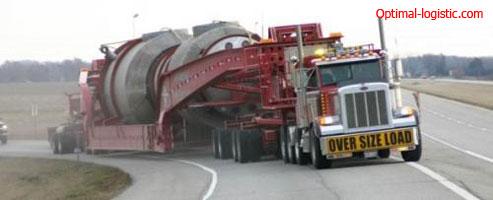 Перевозка крупногабаритных тяжеловесных грузов