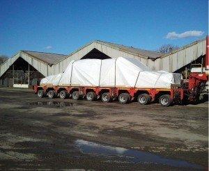 Перевозка оборудования из Германии вес 65т